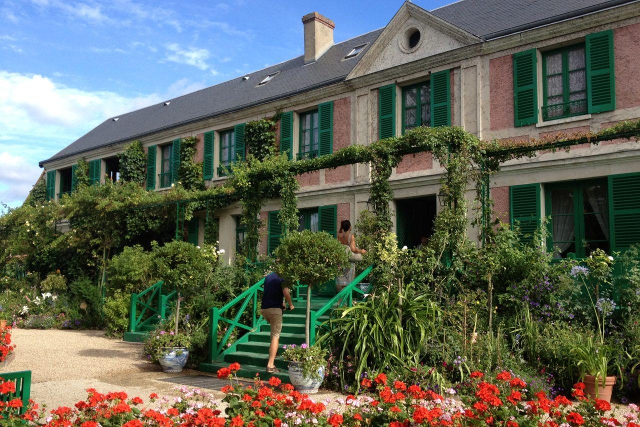 【ジヴェルニー】パリから1時間!モネの過ごした家