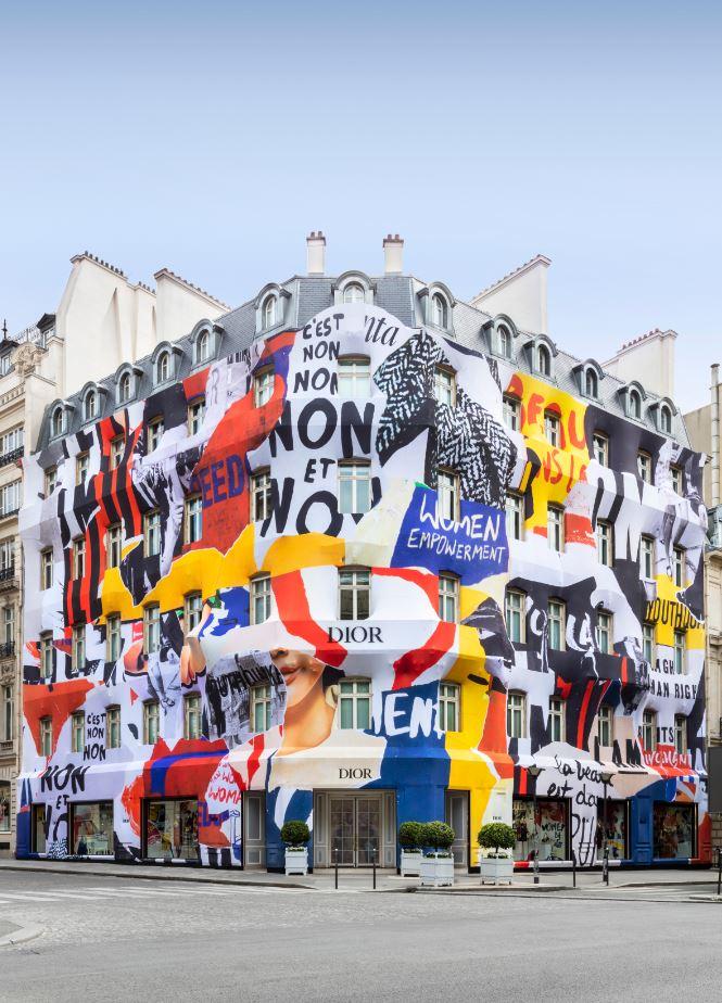 Diorのパリ本店が期間限定で大変身!?