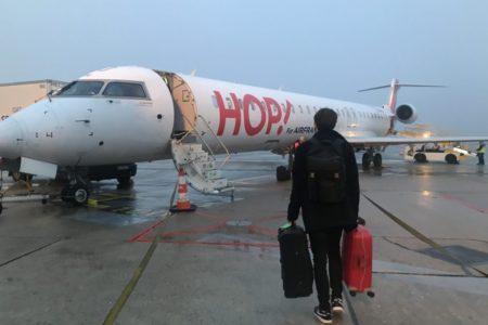 エールフランス運営のHOP!でパリ・オルリー空港からモンペリエへ行ってみた